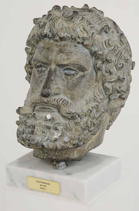 Bust of a Greek Boxer