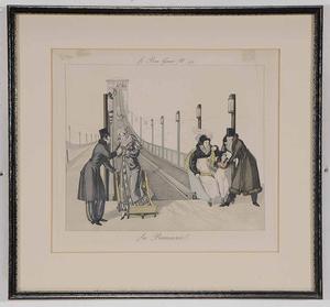 Group of Five Framed Prints