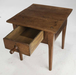 Country Work Table with One Drawer