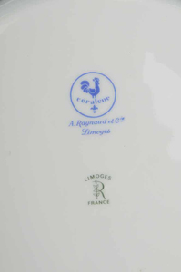 A. Raynaud Partial Dinner Service, (42 items)