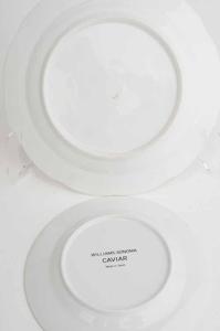 Dinner, Fruit and Caviar Plates, (30 items)