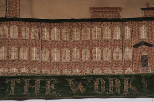 Two Large-Scale Silk Embroideries