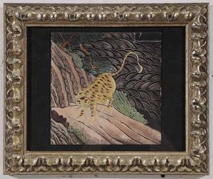 Pair Framed Leopard Prints