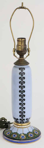 Blue Porcelain Table Lamp