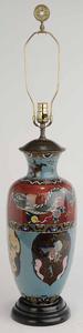 Asian Cloisonne Lamp