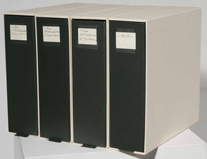 Four Three-Ring Binders of American Revolutionary War and Presidential Ephemera