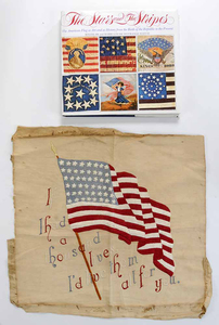 Patriotic Book and Needlework