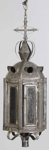Large Tin Lantern, Electric