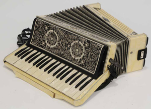 Old Wurlitzer Piano Accordion