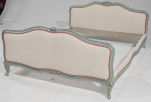 French Upholstered Queen Size Bed