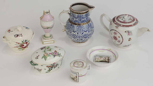 Group of Seven Porcelain Items