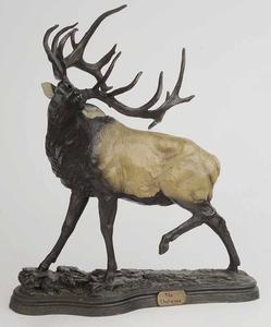 Cast Resin Figure of Elk