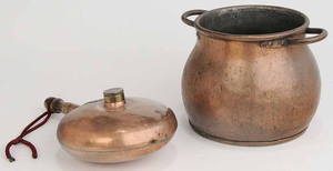 Two Utilitarian Copper Items