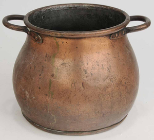 Two Utilitarian Copper Items