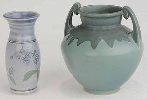 Two Arts and Crafts Vases