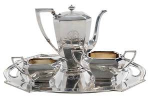 Fairfax Sterling Coffee Service, Durgin Tray