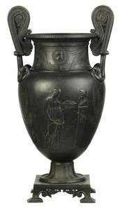 Grand Tour Iron Vase
