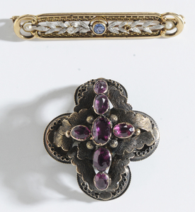 Two 14kt. Antique Brooches