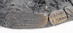 Six Genesis Bronze Sculptures