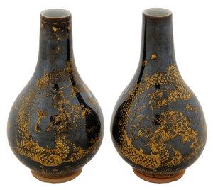 Pair of Guangxu Bud Vases