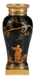 Bronze Mounted Chinoiserie Vase