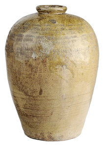 Large Stoneware Sake Fermentation Jar