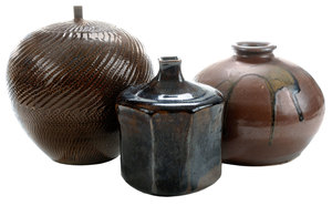 Three Pieces [Mingei] Stoneware