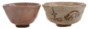Two Boxed Early [Chawan] or Tea Bowls