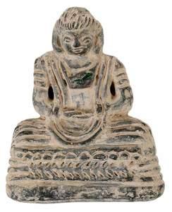Carved Stone Afghanistan Buddha
