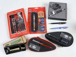 Eight Novelty Pens