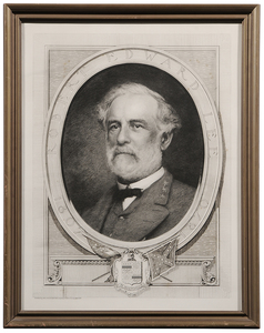 Bust Portrait of Robert E. Lee
