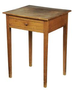 American Federal One Drawer Table