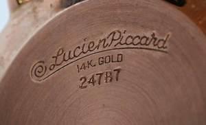 14kt. Lucien Piccard Watch