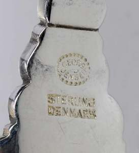 Georg Jensen Acorn Sterling Flatware, 83 Pieces
