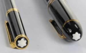 Two Montblanc Fountain Pens
