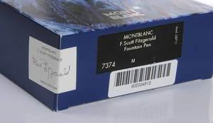 Montblanc F. Scott Fitzgerald Fountain Pen
