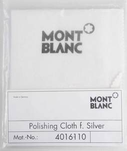 Group of Montblanc Books and Polishing Cloth