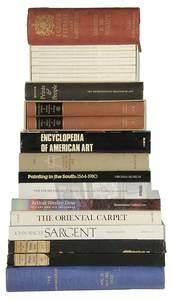 Approximately 137 Decorative Arts Books