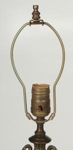 Three Gilt Bronze Table Lamps