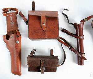 Ten Leather Riding Accessories