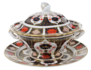 Royal Crown Derby Tureen