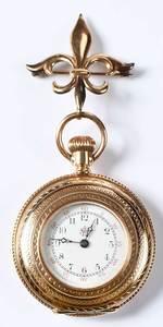 14kt. Lady's Waltham Pocket Watch