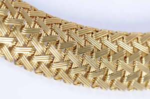 14kt. Woven Necklace