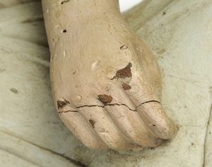 Folk Art Carving of a Woman