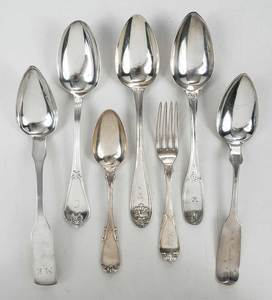 26 Pieces Coins Silver Flatware