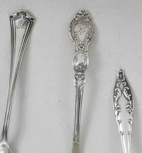 61 Pieces Assorted Sterling Silver Flatware