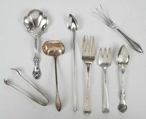 33 Pieces Sterling Flatware