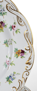 Set 14 Floral Plates
