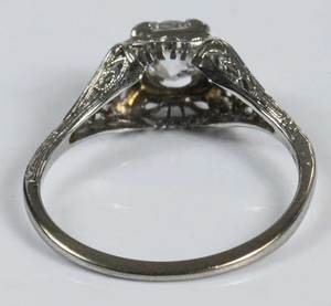 Vintage 14kt. Diamond Ring