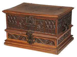 Gothic Revival Carved Box